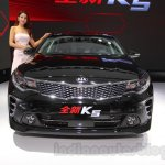 2016 Kia K5 front at the 2015 Chengdu Motor Show