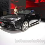 2016 Kia K5 front quarter at the 2015 Chengdu Motor Show