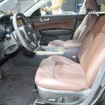 2016 Kia K5 front seat at the 2015 Chengdu Motor Show