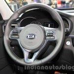 2016 Kia K5 steering at the 2015 Chengdu Motor Show