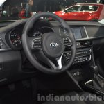 2016 Kia Optima steering wheel at IAA 2015