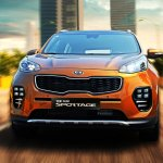 2016 Kia Sportage front press shots
