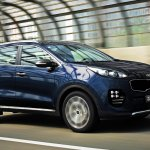 2016 Kia Sportage front three quarters (Korea spec)