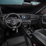 2016 Kia Sportage interior press shots