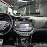 2016 Kia ceed GT dashboard interior at IAA 2015