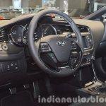 2016 Kia ceed Sportswagon GT steering wheel at IAA 2015