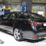 2016 Lexus GS 450h (facelift) rear three quarter left at IAA 2015