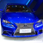 2016 Lexus IS 200t front at the 2015 Chengdu Motor Show