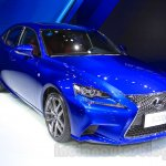 2016 Lexus IS 200t front quarter at the 2015 Chengdu Motor Show