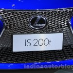 2016 Lexus IS 200t grille at the 2015 Chengdu Motor Show