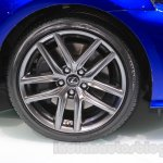 2016 Lexus IS 200t wheel at the 2015 Chengdu Motor Show
