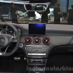 2016 Mercedes A45 AMG dashboard at the 2015 IAA