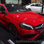 2016 Mercedes A45 AMG front three quarters at the 2015 IAA