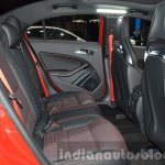 2016 Mercedes A45 AMG rear seat at the 2015 IAA