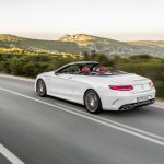2016 Mercedes-AMG S 63 Cabriolet rear three quarter unveiled