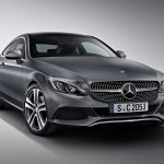 2016 Mercedes C Class Coupe Edition 1 front quarter unveiled