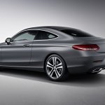 2016 Mercedes C Class Coupe Edition 1 rear three quarter unveiled