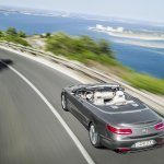2016 Mercedes S Class Cabriolet rear quarter top unveiled