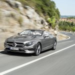 2016 Mercedes S Class Cabriolet rear quarter unveiled