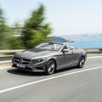 2016 Mercedes S Class Cabriolet rear three quarter (1) unveiled