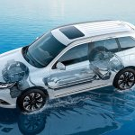 2016 Mitsubishi Outlander PHEV engine debut in Frankfurt