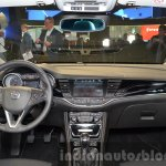 2016 Opel Astra dashboard at the IAA 2015