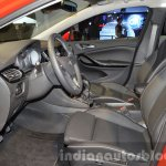 2016 Opel Astra front cabin at the IAA 2015