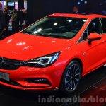 2016 Opel Astra front three quarter at the IAA 2015