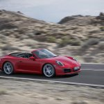 2016 Porsche 911 Carrera Cabriolet facelift side unveiled