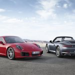 2016 Porsche 911 Carrera facelift front and rear unveiled