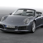 2016 Porsche 911 Carrera facelift front quarter unveiled