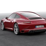2016 Porsche 911 Carrera facelift rear quarter unveiled