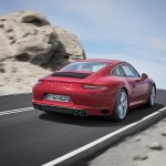 2016 Porsche 911 Carrera facelift rear three quarter unveiled
