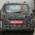 2016 Renault Duster facelift for India rear spied