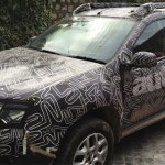 2016 Renault Duster facelift for India spied