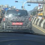 2016 Renault Duster rear spotted in Chennai