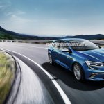 2016 Renault Megane front quarter leaked