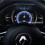 2016 Renault Megane instrument cluster leaked