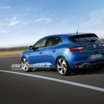 2016 Renault Megane rear three quarter leaked