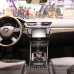 2016 Skoda Superb dashboard at the 2015 Chengdu Motor Show