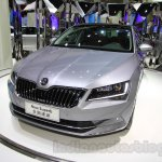 2016 Skoda Superb front fascia at the 2015 Chengdu Motor Show