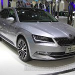 2016 Skoda Superb front quarter at the 2015 Chengdu Motor Show