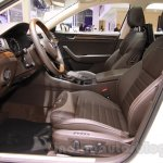 2016 Skoda Superb front seats at the 2015 Chengdu Motor Show