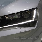2016 Skoda Superb headlight at the 2015 Chengdu Motor Show