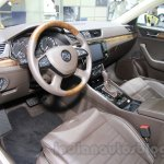 2016 Skoda Superb interior at the 2015 Chengdu Motor Show