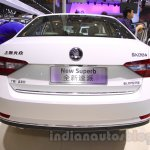 2016 Skoda Superb rear at the 2015 Chengdu Motor Show
