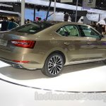 2016 Skoda Superb rear quarter at the 2015 Chengdu Motor Show