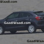 2016 Suzuki Baleno (Maruti YRA) rear three quarter grey spotted in the wild