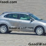 2016 Suzuki Baleno (Maruti YRA) side spotted in the wild