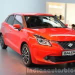 2016 Suzuki Baleno front three quarter at IAA 2015